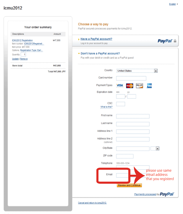 how to pay your paypal account